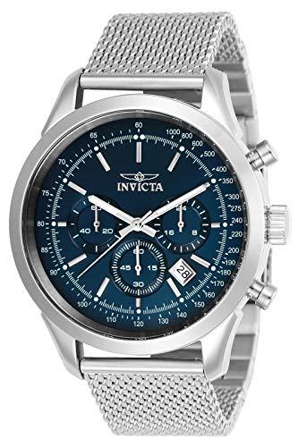 Invicta 24209 Speedway Reloj para Hombre acero inoxidable Cuarzo Esfera azul