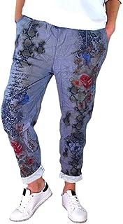 Amazon.es: Azul - Pantalones / Mujer: Ropa