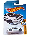 2017 Hot Wheels Muscle Mania Ford Shelby GT350R Blanco 213/365 (tarjeta larga)