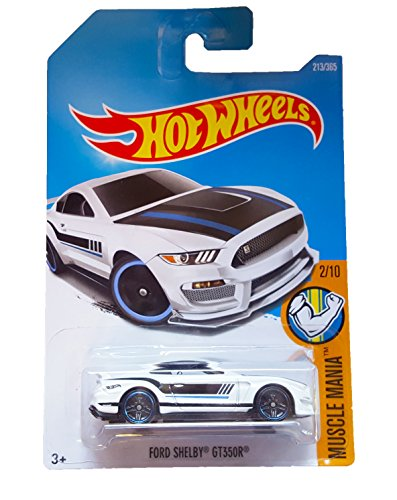 Hot Wheels 2017 Muscle Mania Ford Shelby GT350R 213/365, White