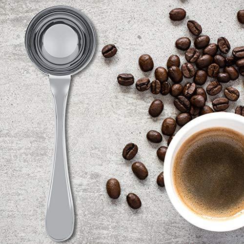 Eco-Friendly Long Handled Tea Coffee Measuring Spoon, Stainless Steel Measuring Spoon, Safe Long Handle for Coffee Scoop Milk Powder Measuring Spoon(15ML)