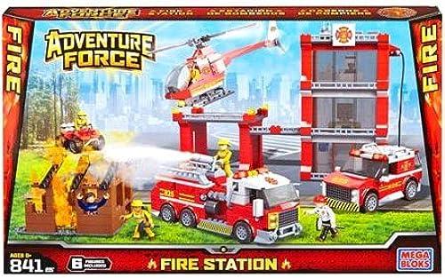 Mega Bloks Adventure Force Fire Station Set  94413 by American Builders