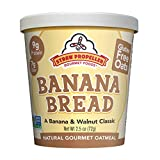 Straw Propeller Gourmet Foods Natural Gourmet Oatmeal, Banana Bread, 2.5 Ounce (Pack of 12)