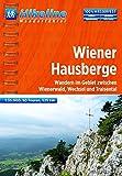 Wanderführer Wiener Hausberge: Wandern im Gebiet zwischen Wienerwald, Wechsel und Traisental,  525 km, 1:35 000, GPS-Tracks Download, wasserfest