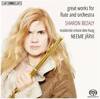 フルート協奏曲集 (great works for flute and orchestra / Sharon Bezaly , residentie orkest den haag Neeme Jarvi) [SACD Hybrid] [輸入盤]