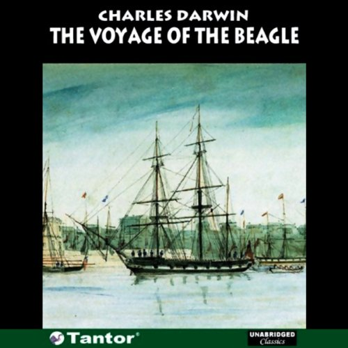 The Voyage of the Beagle (Unabridged) audiobook cover art