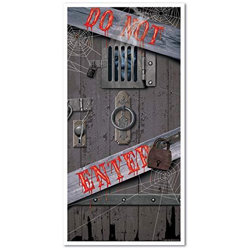 Beistle 11 Spooky Halloween Door Cov