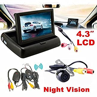 Auto-Einparkhilfe-hansee-43-Auto-Rear-View-Monitor-Wireless-Auto-Backup-Kamera-System-Kit