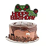 13 Birthday Decorations For Boys Video Game Controller 13 birthday Cake Topper Gamer 13th Birthday Decorations For Girls Gaming