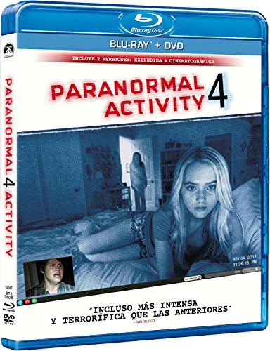 Paranormal Activity 4 (BD + DVD) [Blu-ray]