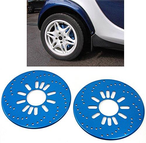 Carparts-Online 26345 - Discos de freno universales (2 unidades), color azul