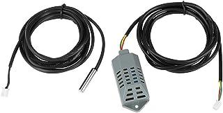 Fdit Accesorios para Incubadora Sensor de Temperatura y Humedad de Alta precisión Sonda Controlador de Termostato Industrial Multifuncional 2Pcs / Set