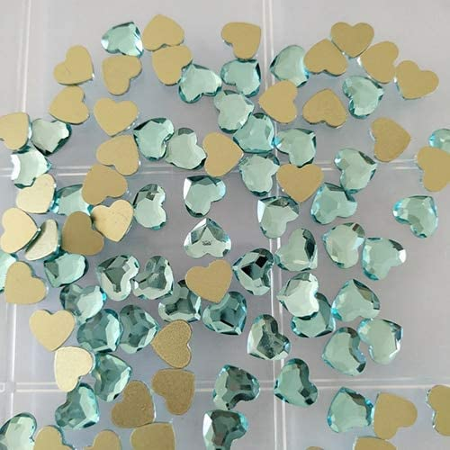 Xuccus Big Pack Glass Crystal Stones Heart 3D Popular product Special price for a limited time Shaped Rhinestones