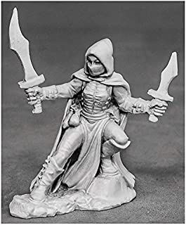 Reaper Miniatures Serena, Dreadmere Rogue #03873 Dark Heaven Unpainted Metal