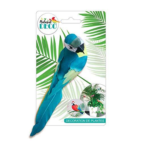 STC Déco Plantes – Grand Oiseau Bleu CD3819