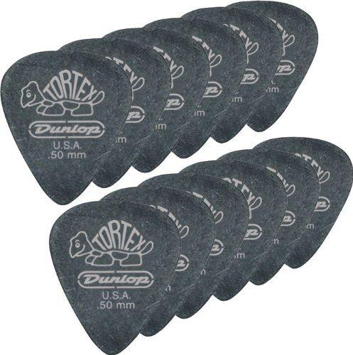 Dunlop 488P1.14 Tortex Pitch Black, 1.14mm, 12/Player's Pack