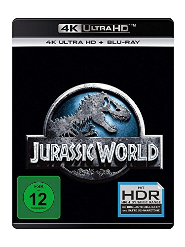 Jurassic World  (4K Ultra HD) (+ Blu-ray 2D)