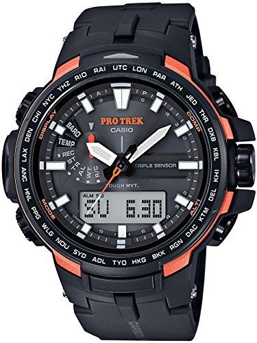 [カシオ] 時計プロトレック電波ソーラーPRW - 6100Y - 1JFブラック
