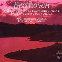 Beethoven: Symphonies Nos. 1 & 3 by Ren???? Leibowitz (1990-01-01)