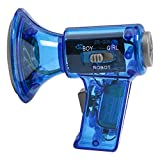 Funny Multi Voice Changer Amplifier 3 Different Voices Changing Effects Fun Modifiers Toy Kids, Speaker Megaphone Bullhorn Toy Gift,New Fun Toy Speaker Gift for Kids, Adult, Festival (Blue)