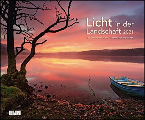Licht in der Landschaft 2021 – Wandkalender 58,4 x 48,5 cm – Spiralbindung