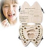 Xrten Denti Box per Bambini,Denti Salva Box Scatola dei Ricordi per Dei Bambini