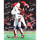 1993 Philadelphia Phillies Team Signed 16x20 Photo - 19 Total Signatures! - Darren Daulton, John Kruk, Mariano Duncan, etc.