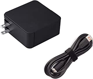 Long Wall Plug AC Charger Fit for Lenovo Yoga 3 Pro 3-Pro 3-1370 3-1470 3-1170 Pro-1370 1170 1370 1470 80JH 80HE ADL40WCC ADL40WDB ADL40WDA ADL40WLC ADL65WCC Tablet Laptop Power Supply Adapter Cord