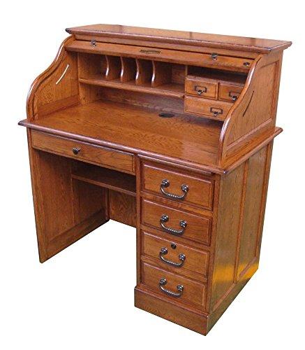 Moon Roll Top Desk Finish: Burnished Walnut (Home)