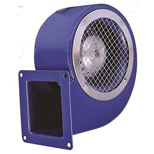 Uzman-Versand SG-160ER Ventola radiale 1200 m³ h Ventilatore radiale per motore, ventola di scarico in metallo, ventilatore radiale, aspiratore per motore, 230 Volt