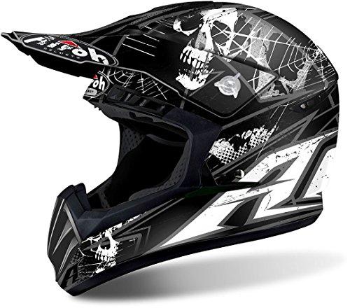 Airoh Casco Helmet Cross Switch Scary Black Matt TG L