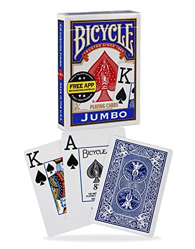 Bicycle Jumbo Playing Cards, 12-pack