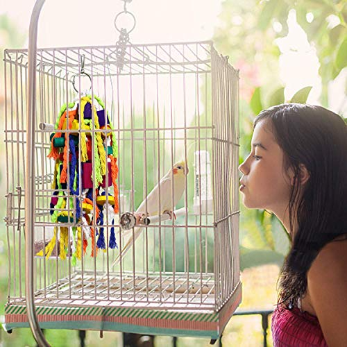 Bird | RYPET Large and Small Parrot Chewing Toys – Parrot Cage Bite Toys Wooden Block Tearing Toys for Conures Cockatiels African Grey and Other amaozn shap2 Parrots, Gym exercise ab workouts - shap2.com