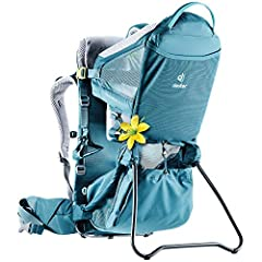 Bring the whole family along for your next hike with the Deuter® Kid Comfort Active SL child carrier. SL collection features bags and carries specially designed for the female torso. Ideal for transporting children 1-3 years old. Integrated sun roof ...