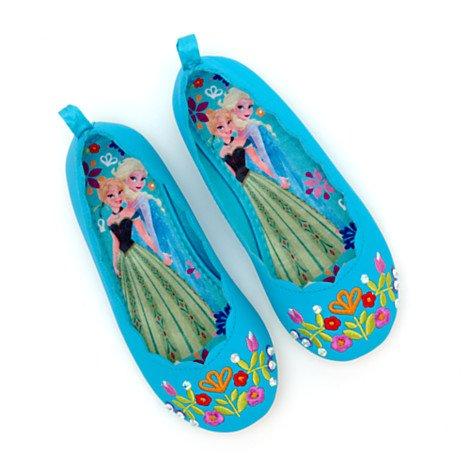 Chaussures La Reine des Neiges pour enfants,Taille UK 12 - UE; 31