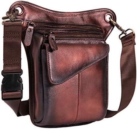 Hebetag Leather Waist Pack Drop Leg Bag for Men Women Belt Bumbag Multi Purpose Motorcycle Bike product image