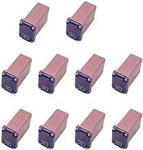 10 Pack 608830 30 Amp Micro Cartridge Fuses - FMM MCASE Type