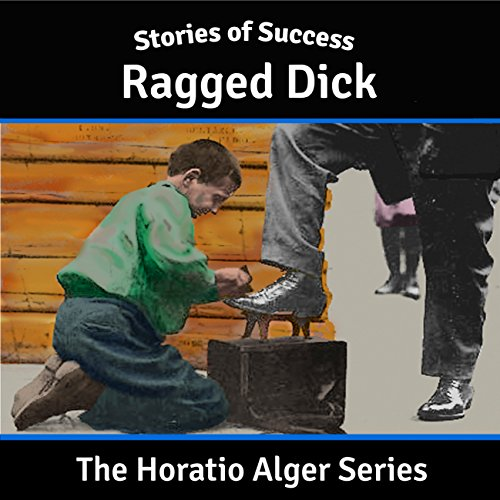 Ragged Dick audiobook cover art