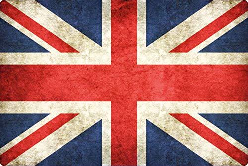 Generisch blikken bord 30x20cm Groot-Brittannië Great Britain vlag Vaandel Schild Vintage