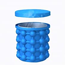 SBWFH Silicone Ice Cube Maker Portable Bucket Wine Ice Cooler Beer Cabinet Space Saving Kitchen Tools Drinking Whiskey Freeze