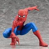 XVPEEN Modelo Marvel Super Spider-Man Spider-Man Rojo Extraordinario con Modelo Base...