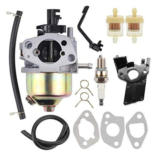 Fried Suave Conjunto del carburador, carburador Carb encajan Honde GX120 GX160 GX200 168F 5.5HP 6.5HP 163cc 196cc Motor de Gasolina Ventilador de Hoja Cortasetos carburador Escabroso