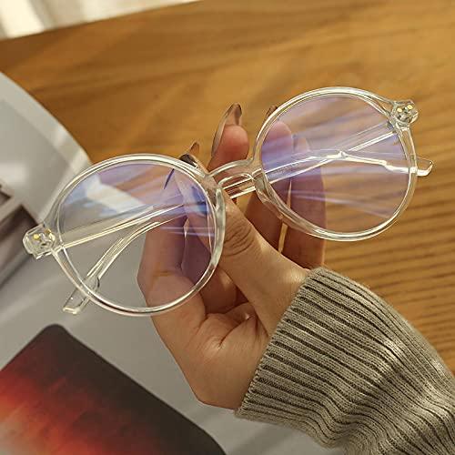 ShSnnwrl Gafas Sol De Hombre Mujer Polarizadas Sunglasses Gafas Anti-Azules, Montura De Gafas, Gafas Ópticas para Ordenador, Gafas Decorat