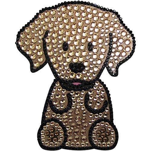 FouFou Dog Sticker à Strass Golden Retriever