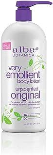 Alba Botanica Very Emollient Body Lotion, Unscented Original, 32 Oz