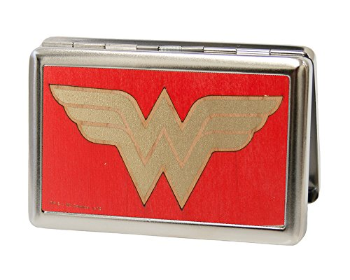 Buckle-Down Business Card Holder - Wonder Woman GW Red/Gold - Large