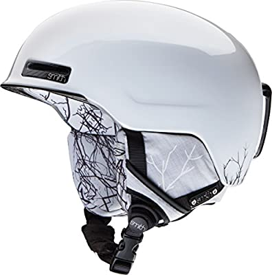Smith Allure Snowboard Helmet - Women's White Branching Out Large