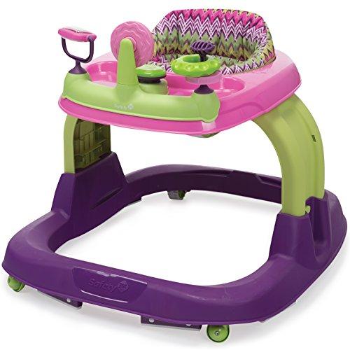 Safety 1st Ready Set Walk 2.0 Developmental Walker, Hi-Fi, Purple