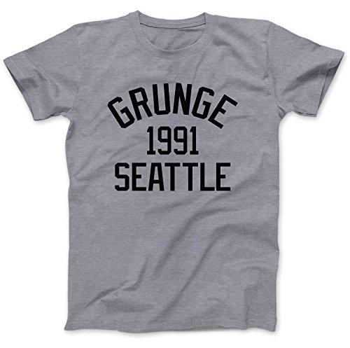 Bees Knees Tees Grunge Music Seattle 1991 T-Shirt Cotton