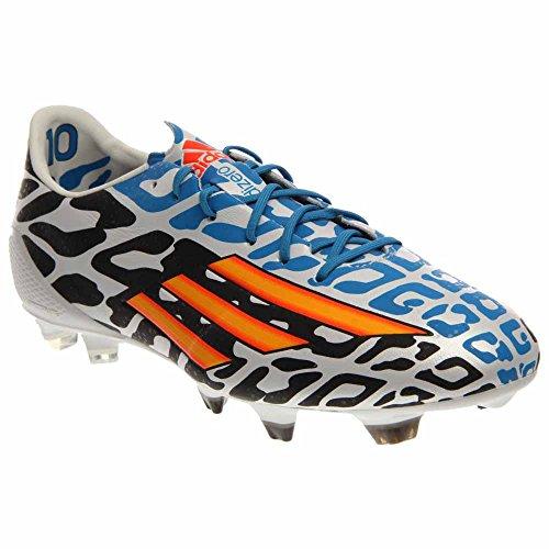 adidas F50 Adizero FG Messi World Cup, White/Blue/Orange